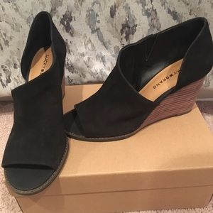 Brand New: Lucky Brand Black Wedge